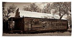Independence -- Sepia Bath Towel