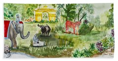 India Friends Hand Towel