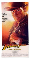 Indiana Jones And The Last Crusade  Bath Towel by Movie Poster Prints