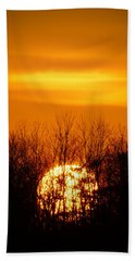 Inferno In The Trees Hand Towel