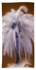Infrared Palm Tree Hand Towel