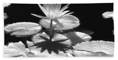 Infrared - Water Lily 02 Hand Towel