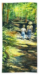 Innocence And Promise Hand Towel