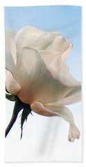 Hand Towel featuring the photograph Innocence by Deb Halloran