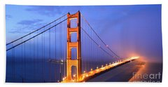 The Golden Gate Bridge Bath Towel