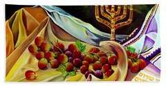Intercession Hand Towel by Nancy Cupp