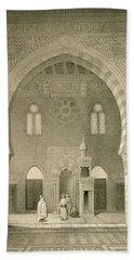 Interior Of The Mosque Of Qaitbay, Cairo Bath Towel