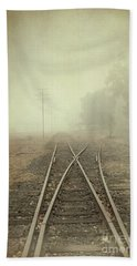 Into The Fog Hand Towel by Elaine Teague