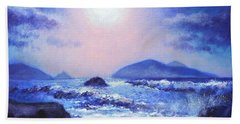 Into The Light The Blasket Islands  Hand Towel