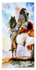 Into The Promised Land Bath Towel