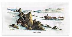 Inuit Waiting Bath Towel