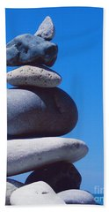 Inukshuk 1 By Jammer Bath Towel by First Star Art