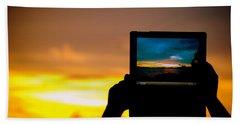 Ipad Photography Bath Towel