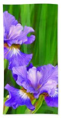 Iris Bath Towel