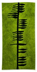 Irish Ogham Meaning Health Bath Towel by LeeAnn McLaneGoetz McLaneGoetzStudioLLCcom