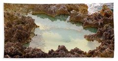 Bath Towel featuring the photograph Ironshore Tidewater Pool by Amar Sheow