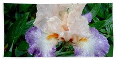 Irresistible Iris Bath Towel