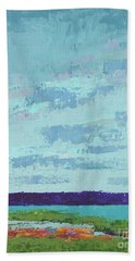 Island Estuary Bath Towel