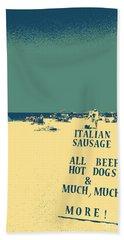 Italian Sausage Hand Towel