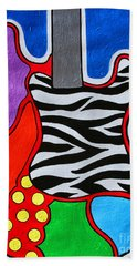 It's Electric Acrylic By Diana Sainz Hand Towel