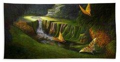 Gods Promise Bath Towel by Loxi Sibley