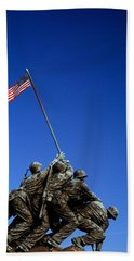 Iwo Jima Memorial At Arlington National Hand Towel