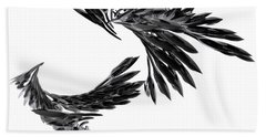 J Big   Crows Bath Towel