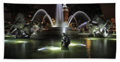 J C Nichols Fountain Bath Towel