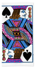 Jack Of Spades - V3 Hand Towel
