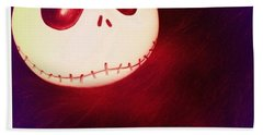 Jack Skellington Glowing Bath Towel
