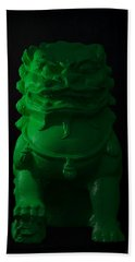 Hand Towel featuring the digital art Jade... by Tim Fillingim