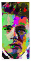James Dean Portrait Bath Towel