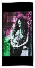 Janis Joplin - Pink Bath Towel