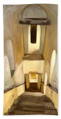 Jantar Mantar Staircase Bath Towel