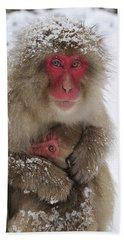 Japanese Macaque Warming Baby Bath Towel