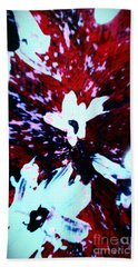 Hand Towel featuring the painting Jasmine In My Mind  by Jacqueline McReynolds