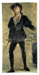 Jean Baptiste Faure In The Opera Hamlet By Ambroise Thomas Hand Towel