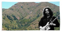 Jerry Garcia And Mount Tamalpais Bath Towel