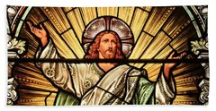 Jesus - The Light Of The Wold Hand Towel