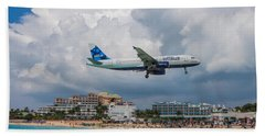 jetBlue in St. Maarten Bath Towel