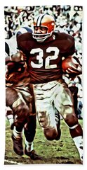 Jim Brown Bath Towel