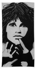 Jim Morrison Hand Towel