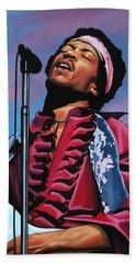Jimi Hendrix 2 Hand Towel
