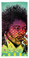 Jimmie Hendrix  Bath Towel