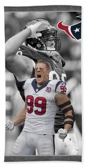 Jj Watt Texans Hand Towel