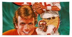 Joe Montana Bath Towel