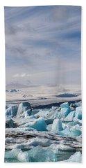 Joekulsarlon Glacial Lagoon Hand Towel