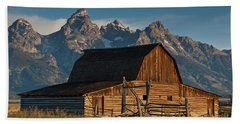 Bath Towel featuring the photograph John And Bartha Moulton Barn by Jeff Goulden