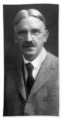 John Dewey (1859-1952) Bath Towel by Granger