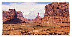 John Ford Point - Monument Valley - Arizona Bath Towel